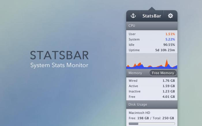 1_StatsBar_System_Monitor_for_CPU_Memory_Disk_Space_Network_Battery.jpg
