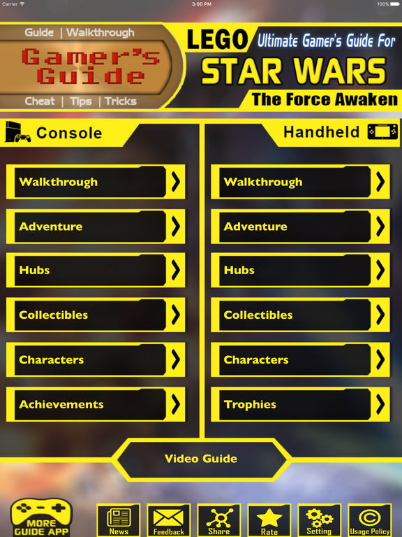 Gamers Guide For LEGO Star Wars The Force Awaken