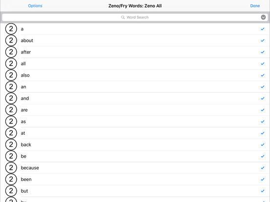 Sight Word Mastery: Zeno Words on the App Store