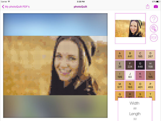 Quiltography : Quilt Design Made Simple Screenshot