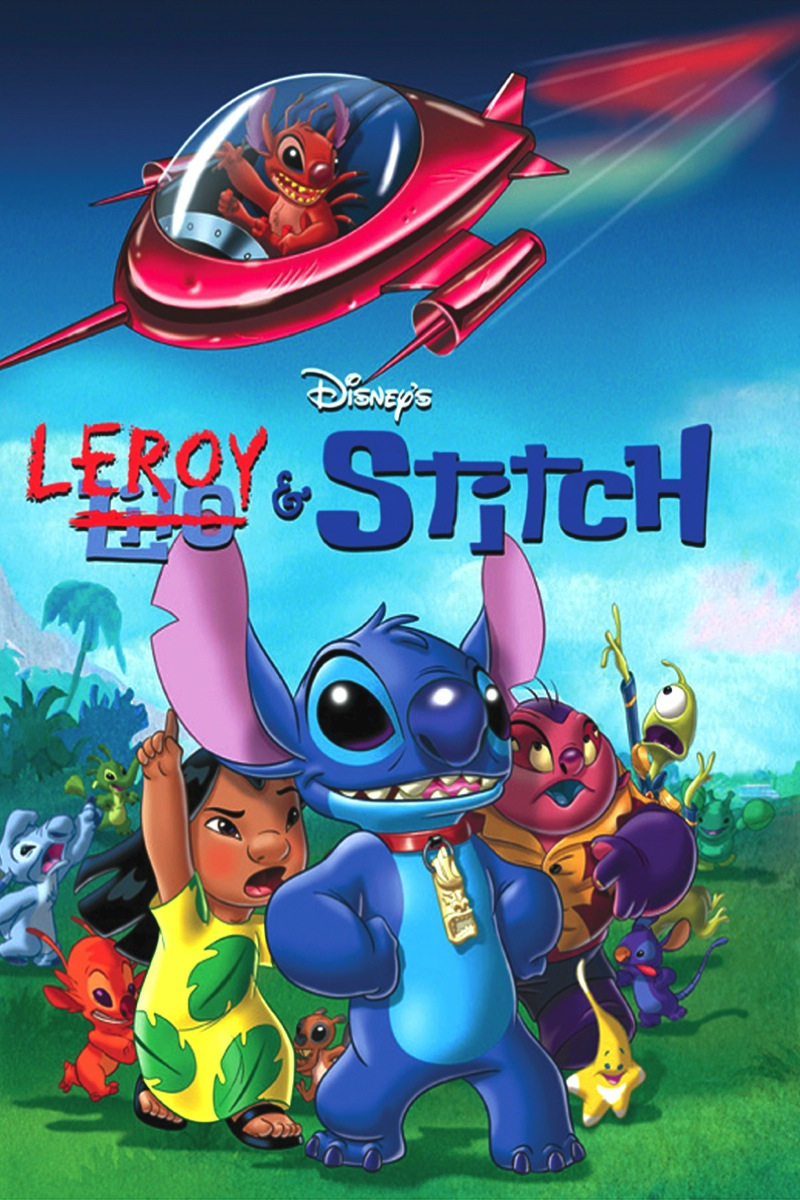 Create Your Own Iphone Wallpaper Online Itunes Movies Leroy Amp Stitch