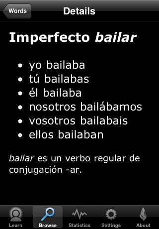Spanish Verb Conjugation Trainer