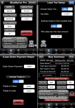 iLeaseMyCar Pro Loan and Lease Calculator