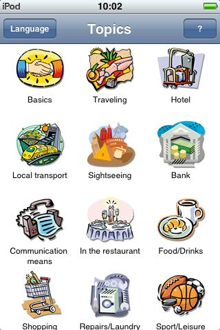 Jourist Visual PhraseBook Spanish