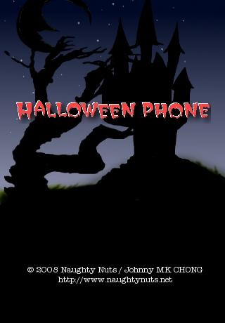 Naughty Nuts Halloween Phone