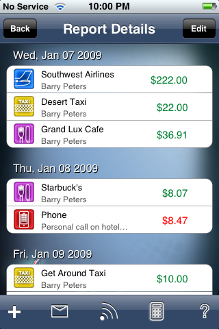 JetSet Expenses