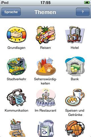 Jourist Visual PhraseBook English
