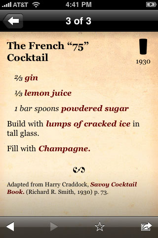 Cocktails+