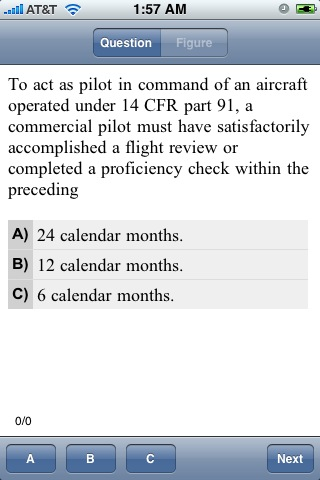 FAA Test Prep - Commercial Pilot
