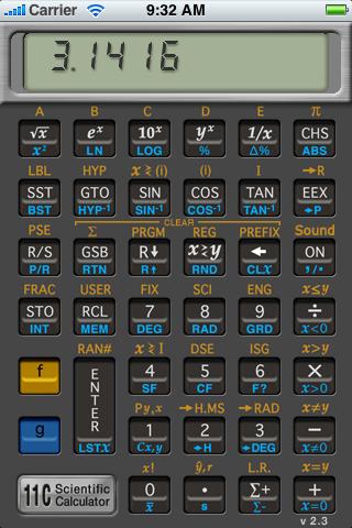 11C Scientific RPN Calculator
