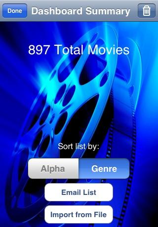 DVD Dashboard