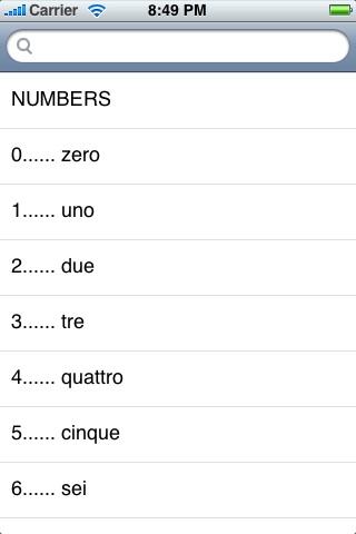 English-Italian Language Translator Phrasebook