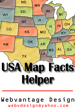 US States Map Facts