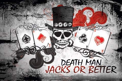 Video poker Death Man Jacks and Better (en español)