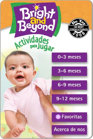 Bright and Beyond - Actividades para jugar - Bebés