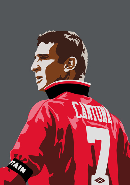 Even in the modern day era of squad numbers, the no. The Legend NO.7 Art Print by MATT WARING   Society6