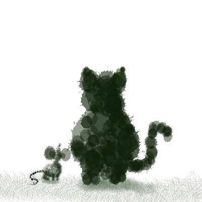 Mouse & Cat