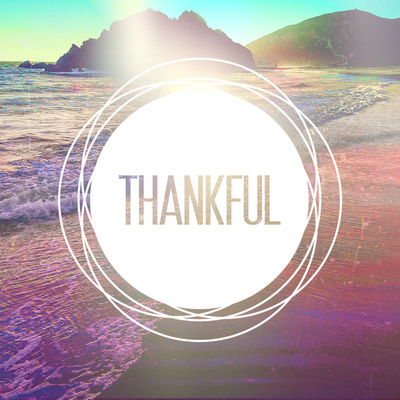 1 Thessalonians 5:18 Thankful Stretched Canvas