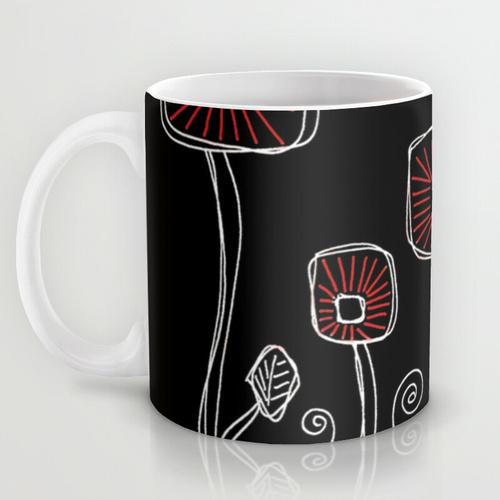 doodle art mug gifts