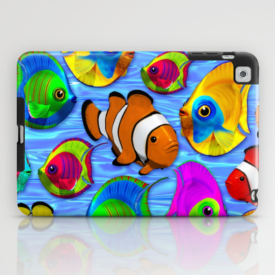 Tropical Fishes Pattern - IPAD MINI - $60.00