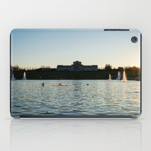 Forest Park art museum photograph iPad skin case cover Society 6 Jessica Pei