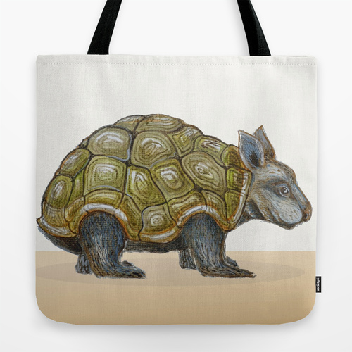 Tha Armoured Wombat tote