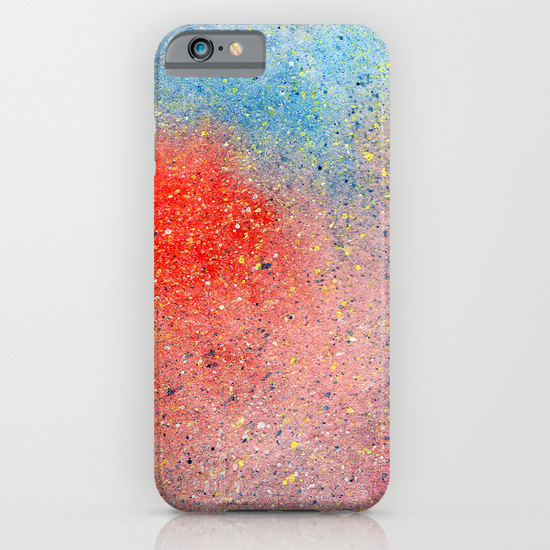 Universe galaxy sky in watercolor cell phone case