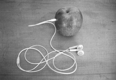 wrong apple Art Print