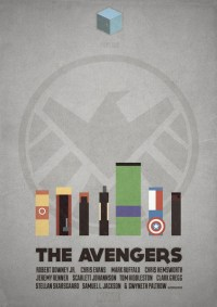 The Avengers - minimal poster Art Print by Mads Hindhede ...