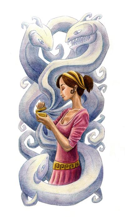 Pandoras Box Art Print by Paul T Demakes  Society6
