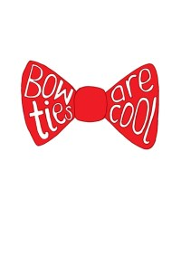 Doctor Who Bow Ties are Cool Art Print by Mortley | Society6