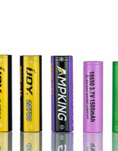 The most distinguishable feature between vaping battery types is size these are common sizes used in also best vape popular rh vaping