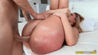Teen Gets Some Big Cock Up Her Sweet Ass