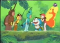 Doraemon Pakaian Serangga