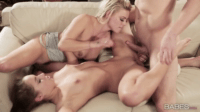 Licking Her Stepmoms Pussy While Fucking Her Boyfriend