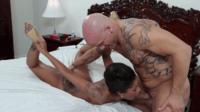 Tattooed Interracial Sex