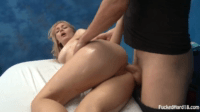Allie Gets Fucked On A Massage Table