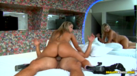 Big Blonde Brazilian Ass