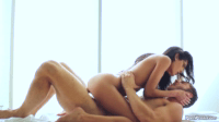 Cute Chloe Amour Sliding On A Dick