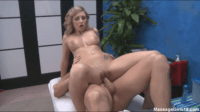 18 Year Old Masseuse Knows Her Job Well