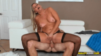 Angela Finally Finds The Cock She Wants