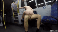 British Hottie Fucking Wildly On The Bus Without Shame