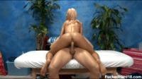 Softly Penetrating Erica On Massage Bed