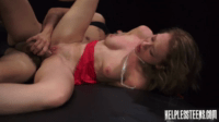 Tied Babe Performing Well On Her Pleasure Arena