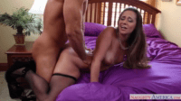Twisted But Firm On The Mattress Cowgirl Sex