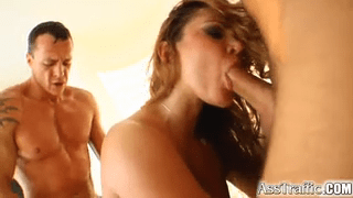 Download vidio bokep Nasty hardcore threesome with double penetration and cum swallowing mp4 3gp gratis gak ribet
