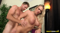 Blonde Boss With Massive Tits