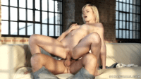 Scoring With A Hot Blonde