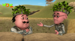 Motu Patlu Episode Army