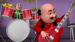 Motu Patlu Episode Rock Band
